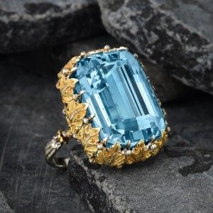 Jewelry Judge Ben Gordon - Aquamarine Ring